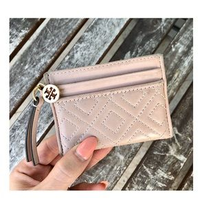 TORY BURCH Fleming Quilted Card Case